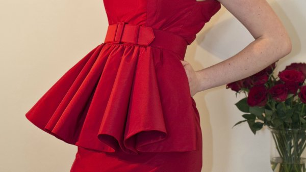 Cocktail Couture Dress By The Vintage Couturiere