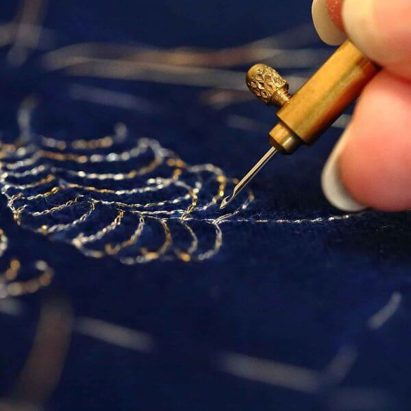 Bespoke Couture Commission by The Vintage Couturiere