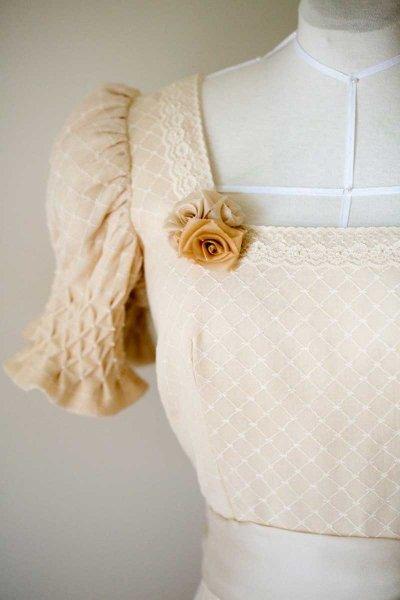 Smocked Tea Dress