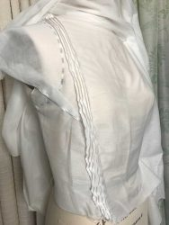 Pin Tuck Stitching for an Edwardian Inspired Blouse