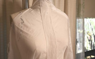 Pin Tucks for an Edwardian Inspired Blouse