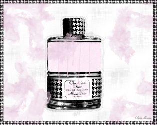 Vintage Miss Dior Perfume Bottle
